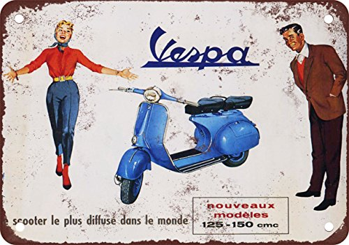 7-x-10-metal-sign-1958-vespa-scooters-vintage-look-reproduction