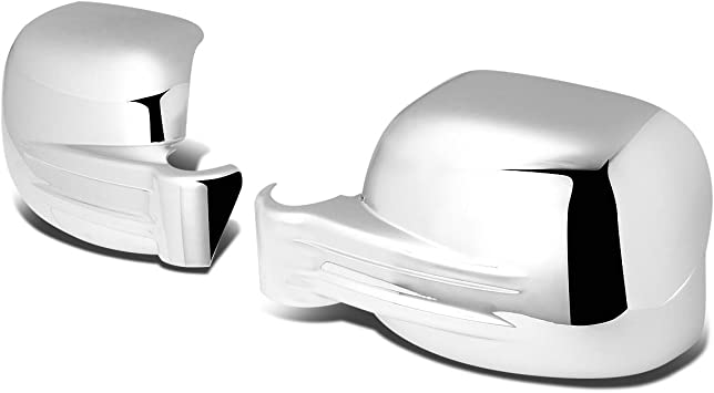 Chrome For Jeep Liberty KJ Pair of Exterior Side Door Mirror ...