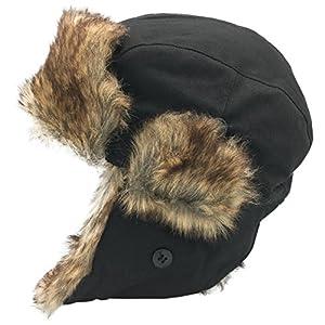 Dboa Winter Faux Fur Fishing Trapper Hat