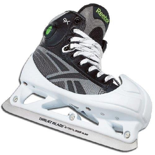 Reebok 9K Pump Senior Ice Hockey Skates Goalie - Size 9.5 -