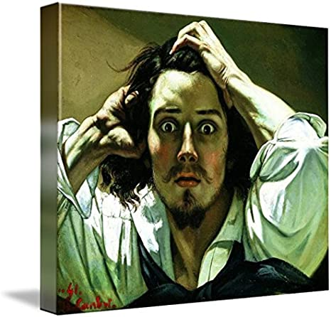 Amazon Com Wall Art Print Entitled Gustave Courbet Self Portrait The Desperate Man By Celestial Images Posters Prints Desperate man (stylized in all lowercase) is the sixth album by american country music singer eric church. amazon com