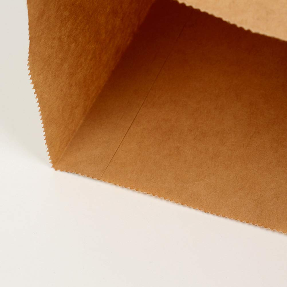Amazon.com: Amosfun - Bolsas de papel kraft para bocadillos ...
