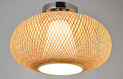 Lytsm Ceiling Lamps Southeast Asia Bamboo Ceiling Light Chinese