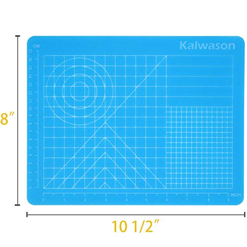 3D Pen Mat Silicone Design Mat 8 x 10 - 3D Pen Accessories with Basic Templates for Kids