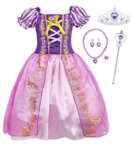 Purple Queen Costume - HenzWorld Princess Costumes Rapunzel Dress Halloween