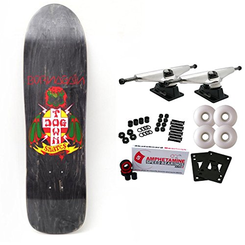 Dogtown Skateboard Complete Born Again Black 8.75