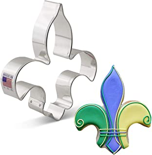 product image for Ann Clark Cookie Cutters Fleur de Lis Cookie Cutter, 4.75""