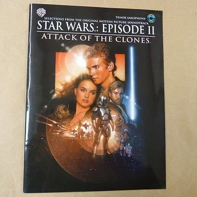 saxophone STAR WARS, Episode 2, Attack of the Clones, + CD
