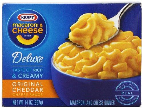 Kraft Deluxe Macaroni & Cheese Dinner (14 oz Box)