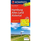 Hamburg -  Altes Land - Alstertal: Fahrradkarte. GPS-genau. 1:70000 (KOMPASS-Fahrradkarten Deutschland, Band 3007)