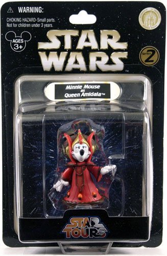 (Star Wars Minnie Mouse as Queen Amidala Star Tours Series 2 Exclusive)