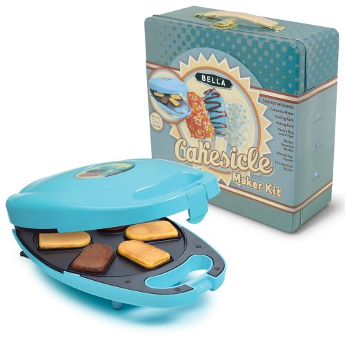 BELLA 13826 Cakesicle Maker Tin Box Set, Mini, Blue