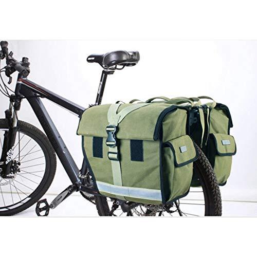 45L Water-Resistant Bicycle Rear Seat Carrier Bag Pannier Bag Rack Trunk Bags Bike Commuter Bag