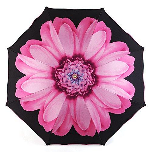 vejaoo-travel-umbrella-uv-protection-sun-rain-compact-windproof-daisy-umbrellas-pink
