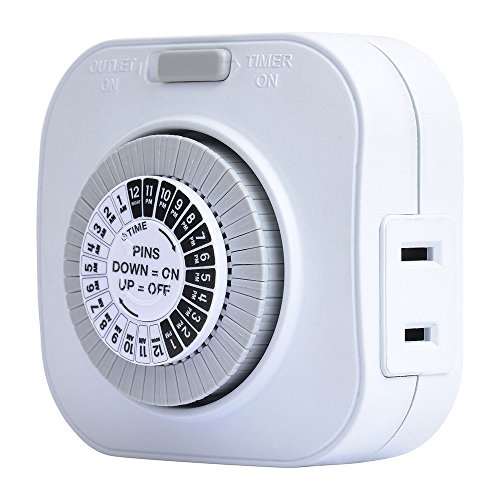 Westek TM01DHB Daily Timer, White (Automatic Outlet)