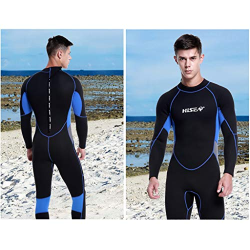 Allywit Wetsuits Mens 3MM Neoprene Scuba Diving One Piece Sport Skin Spearfishing Full Suit Black by Allywit (Image #3)