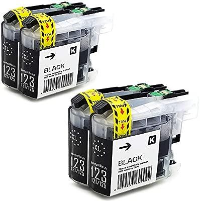 3 x cartucho de tinta de colour negro con Últimas chip compatible ...