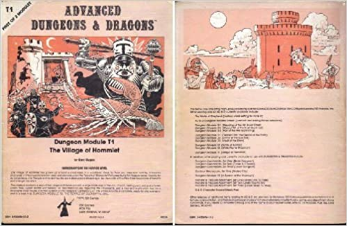 Book The Village of Hommlet (Advanced Dungeons & Dragons Module T1)