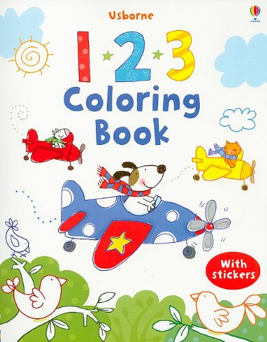usborne coloring by number - 7