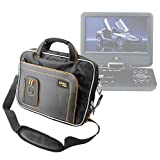 """Cheap DURAGADGET """"Travel"""" Professional Quality Lightweight & Tough 15.6″ Laptop Briefcase Carry Case With Padded Shoulder Strap & Multiple Compartments For Bush 7 Inch Portable DVD Player"""