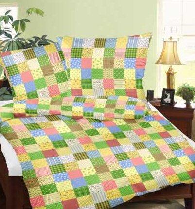 Geniessedenschlaf Seersucker Bettwasche Aus 100 Baumwolle Patchwork