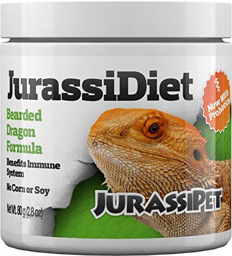 Jurassipet Food - JurassiDiet - Bearded Dragon, 80 g / 2.8 oz.