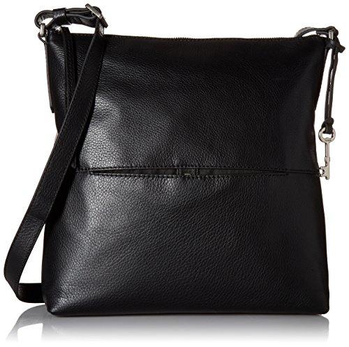 Fossil Charlotte Hobo Handbag, Black