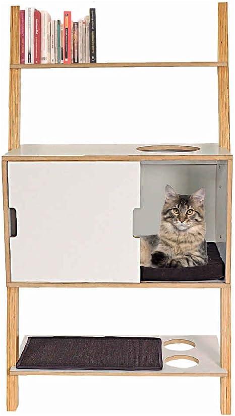Animalis – Mueble nicho de gato: Amazon.es: Productos para ...