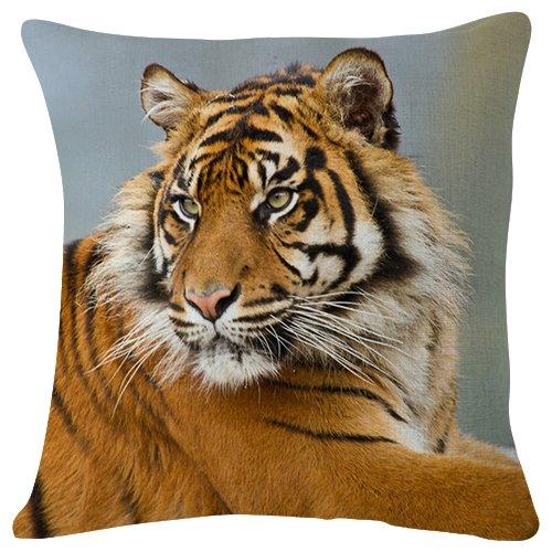 PUPBEAMO Tiger Predator - Funda de cojín para sofá ...