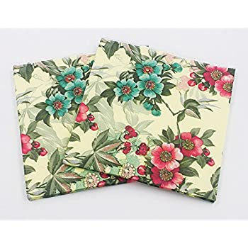 Amazon floral paper napkinsalink spring flower design vintage wallye shabby chic floral paper napkins for thanksgiving garden party or wedding 20 pack mightylinksfo