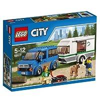 Lego City 60117 - Van und Wohnwagen, Bau- und Konstruktionsspielzeug