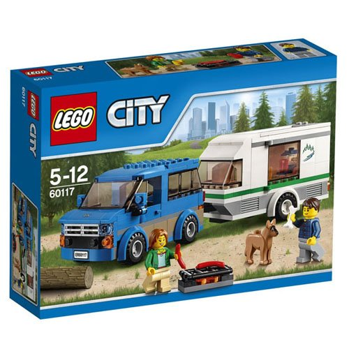 643 opinioni per LEGO City Great Vehicles 60117- Furgone e Caravan