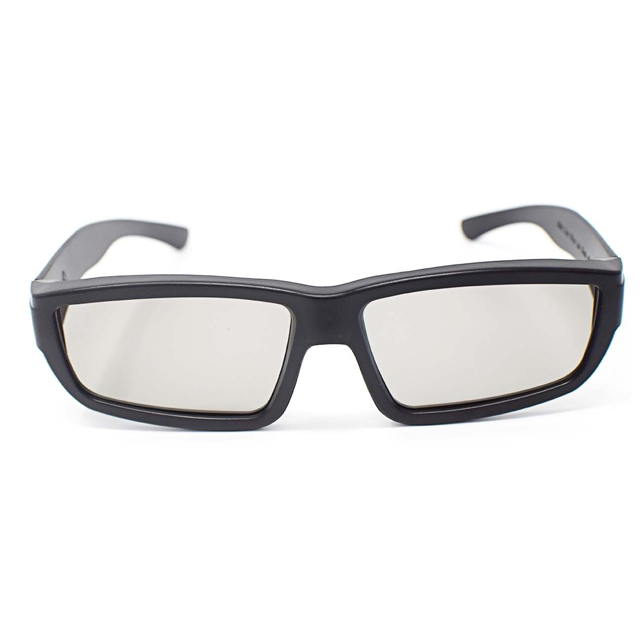Ultra 4 Pairs of Black Adults Passive 3D Glasses Men Women Polorized For Use with RealD Movies Cinemas TVs and Projectors