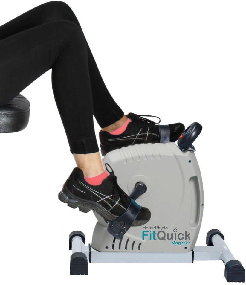 NEU Mini-Heimtrainer der am Sofa oder Stuhl im Sitzen verwendet wird einfacher Heimtrainer Premium-Qualit/ät sanfter Magnetwiderstand Baut Muskeln in den Bein Ein tragbarer Leiser FitQuick Rehabilitationstraining f/ür Beine und Arme