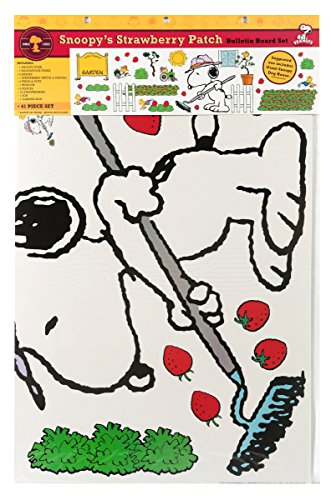 Eureka Snoopy's Spring Strawberry Patch Bulletin Board Sets (847686)