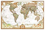 unlike other companies - World Executive Political Wall Map (Enlarged Size & Tubed World Map)