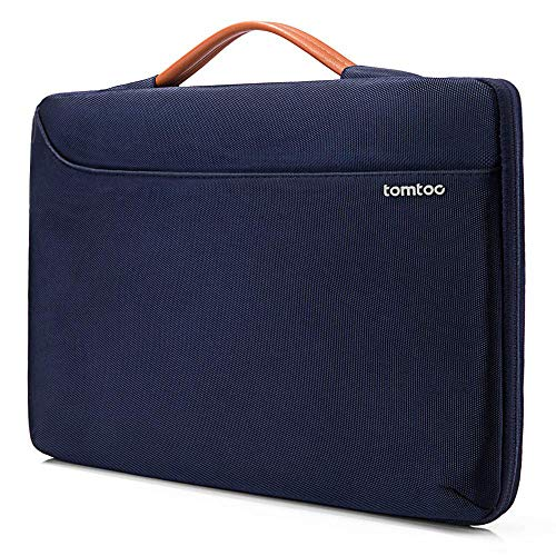 tomtoc 360° Protective Laptop Sleeve Fit Microsoft 13.5 Inch Microsoft Surface Book 1 2, Surface Laptop 1 2, Notebook Tablet Briefcase Handbag for 13 Inch Asus Zenbook, HP Envy, Lenovo - Case Notebook Carrying Clutch