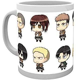 GB Eye Attack On Titan All Chimis Mug Multi Colour