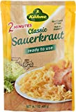 Kuhne Classic Sauerkraut Pouch, 14.1 Ounce (Pack of 10)