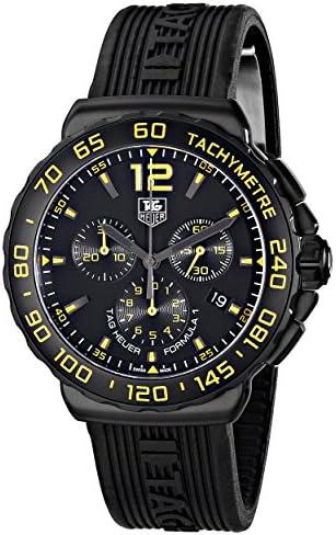 TAG Heuer Men s CAU111E.FT6024 Formula 1 Analog Display Quartz Black Watch