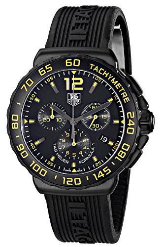 - TAG Heuer Men's CAU111E.FT6024 Formula 1 Analog Display Quartz Black Watch
