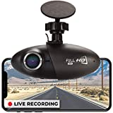 Dash Cam Powered by Nexar, Cloud Storage for Video Clips and 32GB SD Card Included, Small & Discreet Wide Angle Car Camera, G-Sensor and GPS, Easy to Install