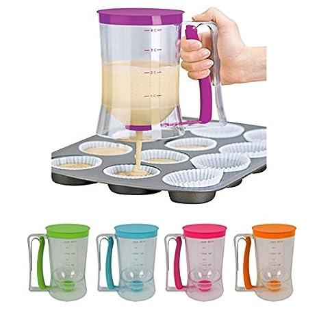 Compra Dosificador para crema pastelera, dispensador para mezclas, 900 ml, distribuidor para dulces y muffins en Amazon.es