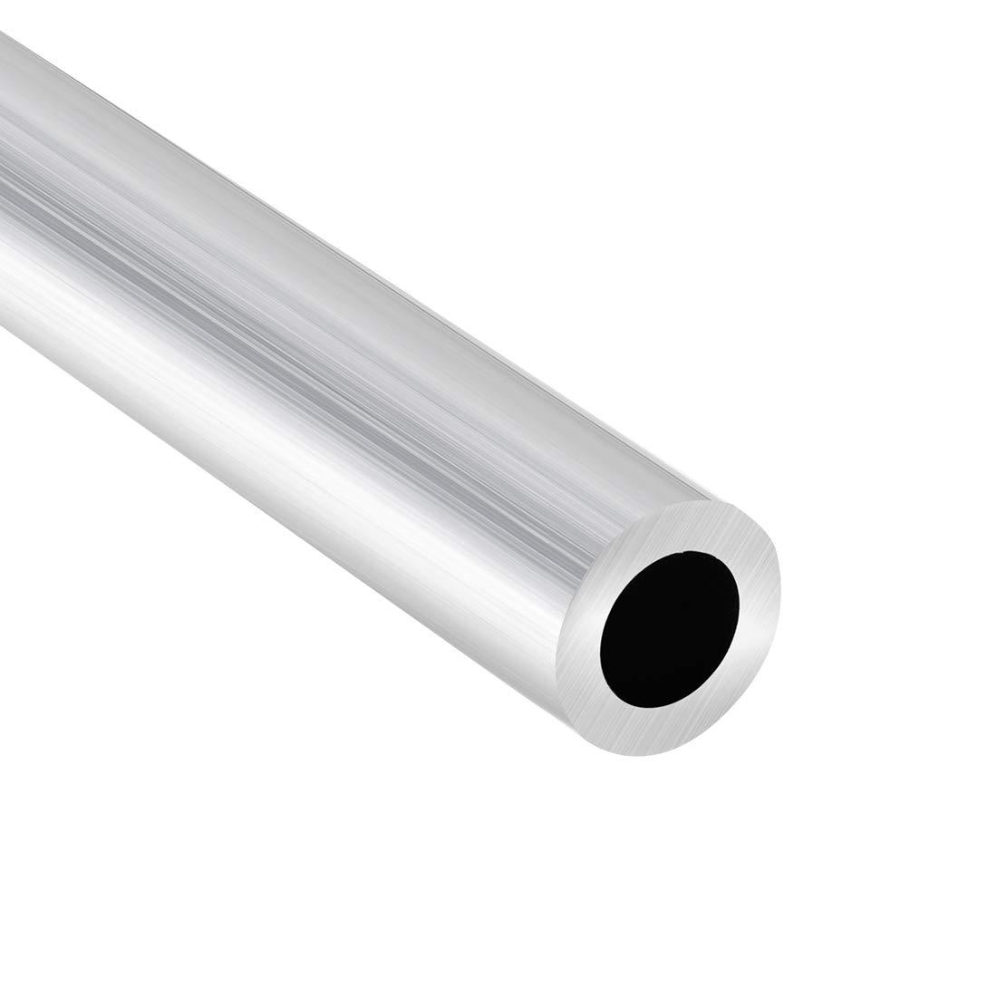 sourcing map 6063 Aluminio Redondo Tubo 300mm Longitud 16mm OD 5-15mm Di/ámetro Interior Sin Costura Aluminio Recto Tuber/ía ID de 10 mm x 16 mm de di/ámetro exterior