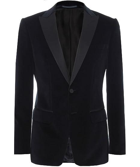 5cca9bf36 Amazon.com: Hugo Boss Boss Velvet Haimon Dinner Jacket Navy: Clothing