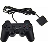 TechInthebox PS2 Wired Controller for Sony PlayStation 2-Black