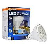 Tools & Hardware : Sylvania Ultra NIGHT CHASER 250 watt Equivalent Super Bright Daylight PAR38 LED Flood