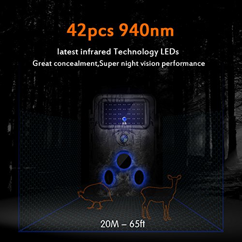 new Gosira Motion Activated Trail Camera Fastest 0 4S Trigger 1080P
