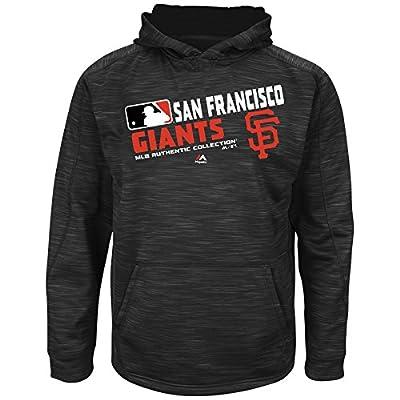 MLB Youth Authentic Collection Team Choice Streak Fleece Hoodie (Youth Medium 10/12, San Francisco Giants)