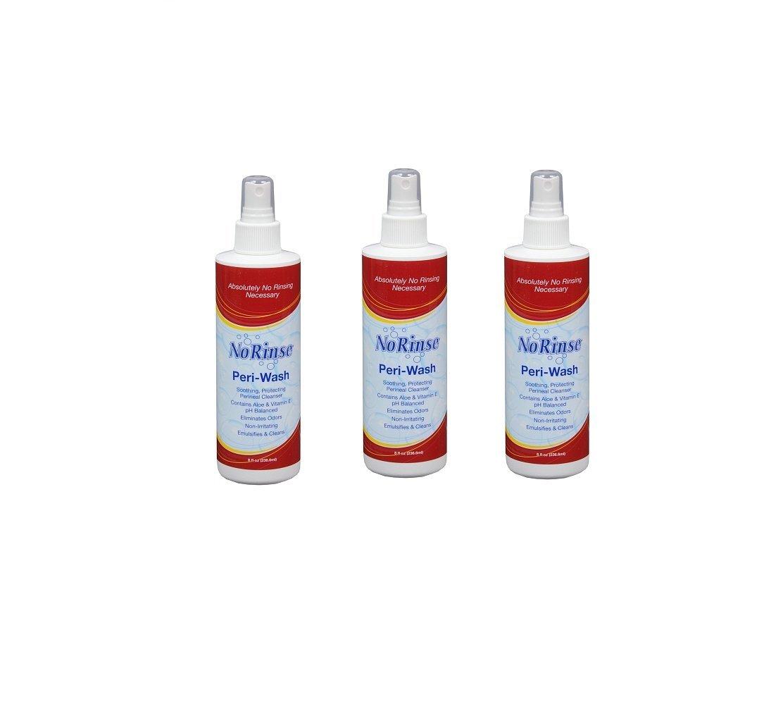 Amazon.com: No Rinse Peri Wash 8 oz bottle (Pack of 3): Health ...